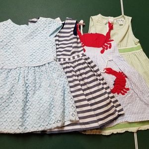 Bundle of girls dresses for 2T
